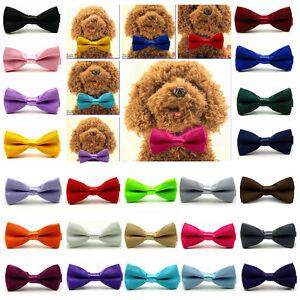 Fashion Adorable Dog Cat Pet Puppy Kitten Toy Bow Tie Necktie Collar Clothes New