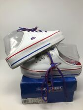 Vtg 90s Skechers Sport Sz 8.5 Shoes Sneakers Flag SPICE GIRLS Platform Mules NEW