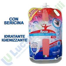 Crema Pasta Lavamani 3000ml Fluida Liquida NETTUNO T-BAG Sgrassante Detergente