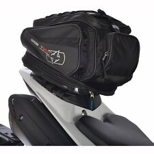 Oxford Motorbike Motorcycle T30R 30 Litre Tailpack Tankbag Sports Luggage Black