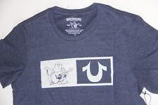 New True Religion Men Logo Blue Big Buddha   Shirt 2XL XXL XXLarge   MI28U24NV1