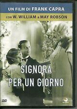 DVD Signora per un giorno. Frank Capra