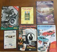 6+ LLEDO Collectors Colour A4 & A5 Brochures & leaflets US Army 007 James Bond