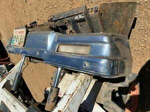 1980 Chevrolet Impala front bumper and backing support