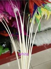 Wholesale 10-200pcs Ostrich feathers spine 16-20inch/40-50cm hats craft use