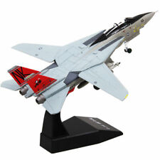 1:100 Grumman F-14 Tomcat Aircraft Fighter Model Diecast Airplane Toy Collection