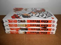 Go West! vol. 1 2 3 4 Manga Graphic Novel Book Complete Lot in English CMX
