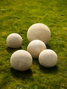 Stone Ball – Hand carved, natural stone sphere