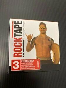 RockTape extrasticky tape  2-Inch X 16.4-Feet CrossFit (Black)
