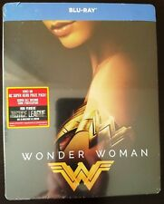 DC Comics WONDER WOMAN Blu-ray Italy Limited Ed. Exclusive Artwork STEELBOOK