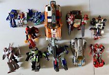 Transformers Lot Of 12, Various Generations: Megatron, Ratchet, Soundwave, G2