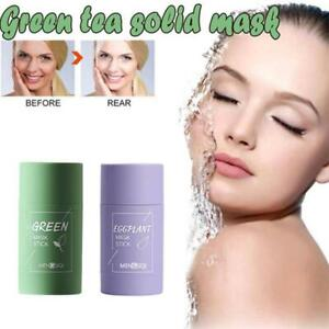 Cleansing Facial Mask Stick Eggplant Purifying Blackhead Acne Remover UK