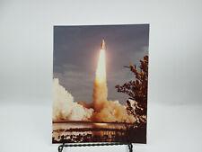 Vintage NASA STS-1 Launch Photo White External Tank 2 SB10