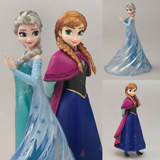 PVC Figuarts ZERO Elsa and Anna Frozen Disney Set of 2 Figures Bandai Japan