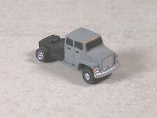 N Scale Gray Ford Semi Single Axle