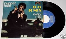 "TOM JONES : PUPPET MAN / EVERY MILE 7"" 45 vinyl * Excellent"