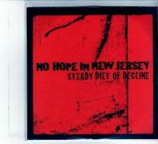 (DU697) No Hope In New Jersey, Steady Diet Of Decline - DJ CD