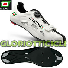 Crono Running Shoes Futura White Sole Nylon Black Number 45