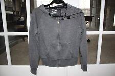 Victoria's Secret Plush and Lush Stone Washed SMALL Gray  Jacket