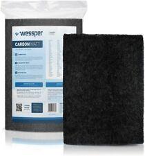 Wessper Filter Dunstabzugshaube Aktivkohle Zuschneidbar 38x56cm AktivKohlefilter