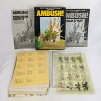 AMBUSH! Solitaire Squad WW2 Combat France 1944 Victory Games Strategy Game