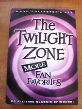 Twilight Zone More Fan Favorites 5-DVD Set: Rod Serling Science Fiction TV  Rare