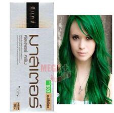 DCASH Permanent Hair Dye Color Cream Super Color # HG 933 Green