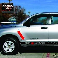 Rocker Panel Decal Stripes Fits  TOYOTA TUNDRA SR5, 4WD, V8 or V6 2006 to 2017