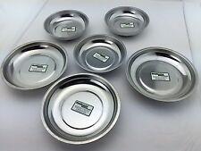 6 Stück Magnetschalen Set  Magnetteller Werkstatt Schrauben Halter Magnet