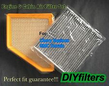Engine&Carbonized Cabin Air Filter AF6131 for Equinox 11-16 & 11-16 GMC Terrain