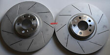 Fits X5 M X6 M Slotted Brake Rotors Made From Genuine BMW Blank Front Pair
