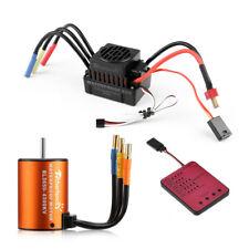 Motor sin escobillas BL3650 4300KV +60A ESC programa tarjeta combo para 1/10 + Control Remoto Coche Camión