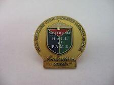 2002 World Golf Hall of Fame Pin Award Bolt Crenshaw Hagge Jacklin Langer More..