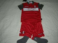Fulham Baby Soccer Kit Kappa Football Shirt Shorts Socks red NEW