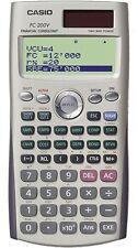 Casio FC-200V Original Financial Calculator 14 Digits 4-Line Display FC-200