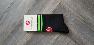 New Black & Green Cycling Socks Size 7-13