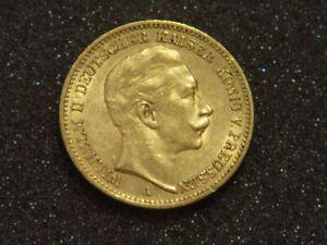 Goldmünze - Kaiserreich - 20 Mark - Preussen - Wilhelm II. - 1898 A