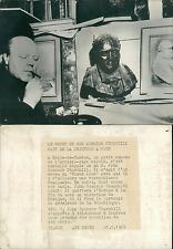 John Spencer Churchill Vintage silver print Tirage argentique  13x