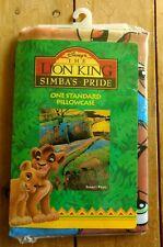 NEW Vintage Disney The Lion King Pillowcase Simba's Pride Standard Size Nala