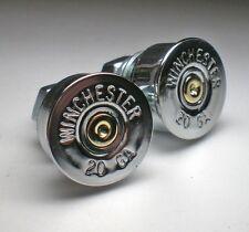 20 Gauge Shotgun Winchester Nickel Bullet License Plate Bolts Motorcycle Harley