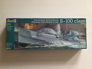Revell 05051 Schnellboot S 100 und zusätzlich Revell 02525 Marinefiguren