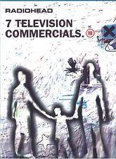 Radiohead 7 Television Commercials Dvd