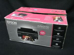 New Epson Artisan 50 Digital Photo Inkjet Printer in Box; Guaranteed
