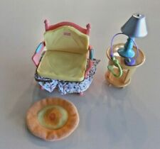 Fisher-Price Loving Family Dollhouse Chair With Table & Lamp, Rug