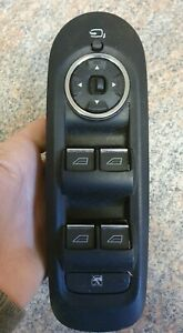 FORD MONDEO MK4 DRIVERS SIDE FRONT MASTER ELECTRIC WINDOW SWITCH 7S7T-14A132-BC