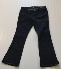 """A.N.A A New Approach Women's 31/12 Petite Bootcut Dark Blue Jeans 35X28"""""""