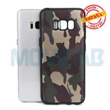 Funda carcasa gel / TPU Samsung G950 Galaxy S8 simil piel camuflaje militar