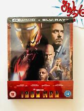 IRON MAN -  4k Ultra HD Zavvi Exclusive STEELBOOK  ( Limited)