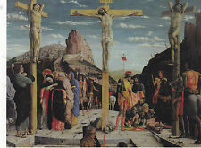 """The Scene of The Crucifixtion"" ...as the Crowd Watches   (C23) {Postcard}"