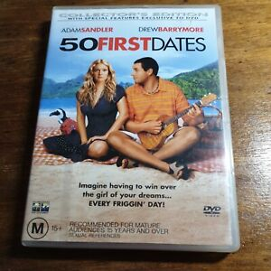 50 First Dates  DVD R4 Like New! FREE POST